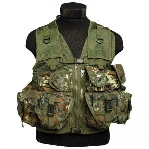 Mil-Tec Ultimate Assault Vest Flecktarn