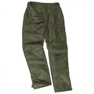 Mil-Tec US MA1 Thermal Trousers Olive