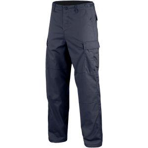 Mil-Tec BDU Combat Trousers Navy Blue