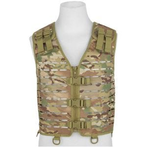 Mil-Tec Laser Cut Carrier Vest Multitarn