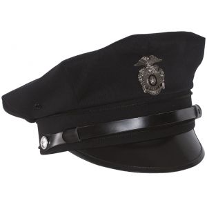 Mil-Tec US Police Visor Hat Dark Blue