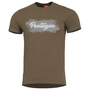 Pentagon Ageron Grunge T-Shirt Terra Brown