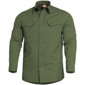 Pentagon Plato Tactical Shirt Camo Green