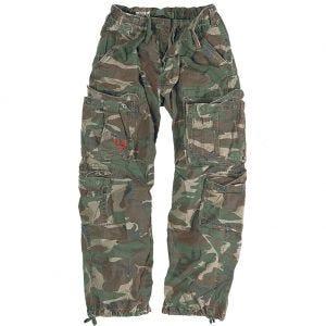 Surplus Airborne Vintage Trousers Woodland