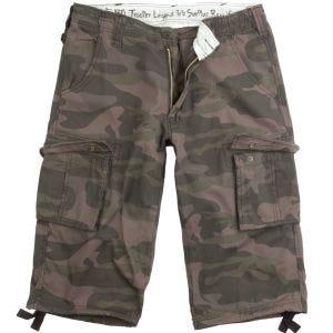 Surplus Trooper Legend 3/4 Shorts Black Camo