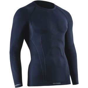 Tervel Comfortline Shirt Long Sleeve Navy