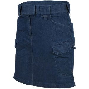 Helikon Women's Urban Tactical Skirt Denim Mid Dark Blue