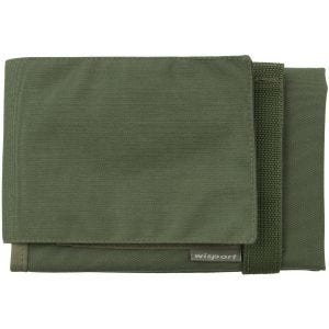 Wisport Lynx Map Case Olive Green