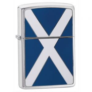 Zippo Scottish Flag Lighter